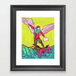 Hypeangel Framed Art Print