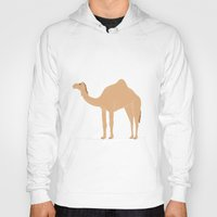 camel Hoodies featuring Camel by tamara elphick