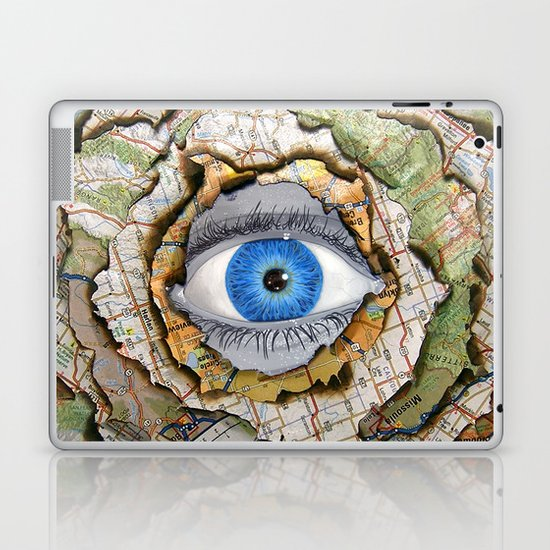 Seeing Through Illusions  Laptop & iPad Skin