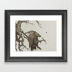 old bones Framed Art Print