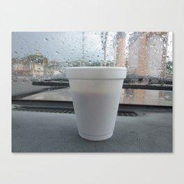 cafe boricua Canvas Print