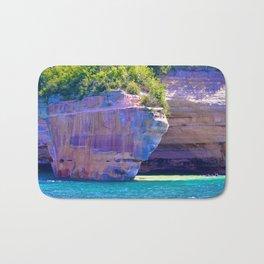 Michigan's Pictured Rocks Bath Mat