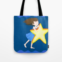 Carry a star Tote Bag