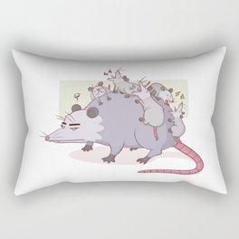 Mama Possum Rectangular Pillow