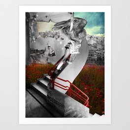 The Underground Youth Art Print