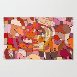 Abstract Geometry Rug