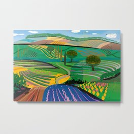 Farms No. 6 Metal Print