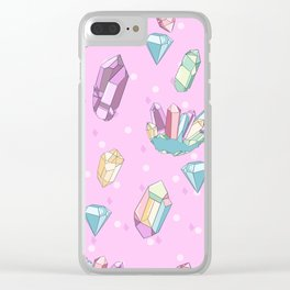 It's Crystal Clear Clear iPhone Case