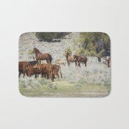 Meeting of the Herds Bath Mat