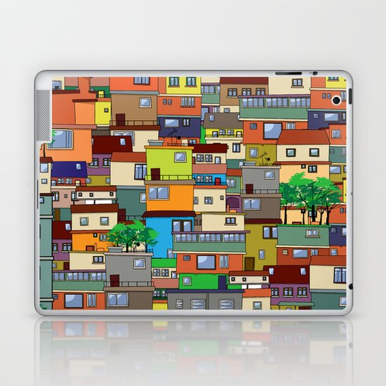 Favela, Rio de Janeiro Laptop & iPad Skin