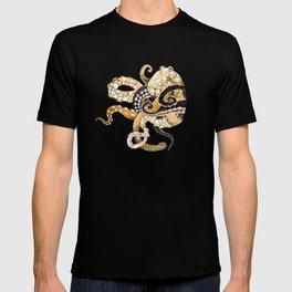 Metallic Octopus T-shirt