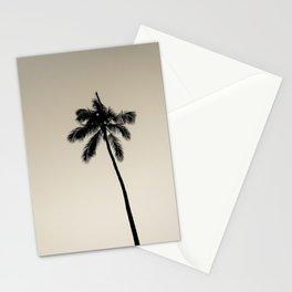 palm tree ver.coffee Stationery Cards