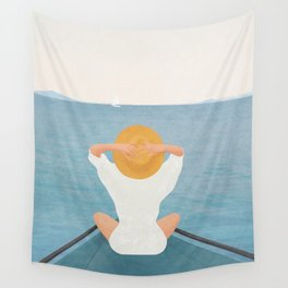 Summer Vacation I Wall Tapestry