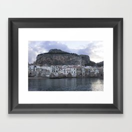 Cefalu's Shore Framed Art Print