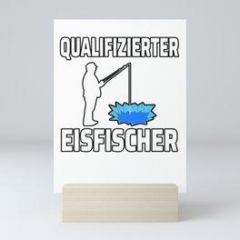 Qualified ice fishermen Gift Mini Art Print