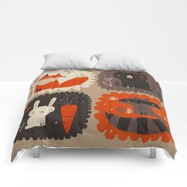 FORREST CRITTERS Comforters