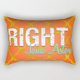 Right Moroccan Print Rectangular Pillow