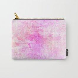 abstract romantic pink watercolor painting Carry-All Pouch