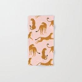 Leopard pattern Hand & Bath Towel