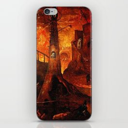 Red Hellish Landscape iPhone Skin