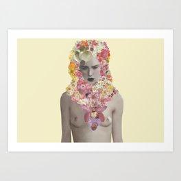 Fit Girl 004 Art Print