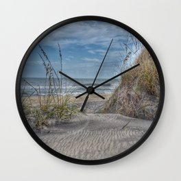 Sand Swirls Wall Clock