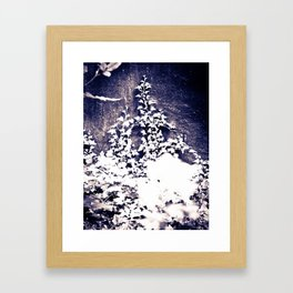 Ivy & Weeds on the Wall Framed Art Print