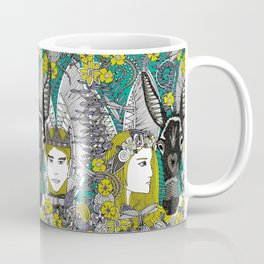 A Midsummer Night's Dream | fairy fantasy | emerald Coffee Mug