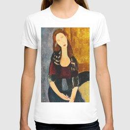"Amedeo Modigliani ""Jeanne Hebuterne, seated"" T-shirt"
