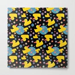 Rubber Duckies Metal Print
