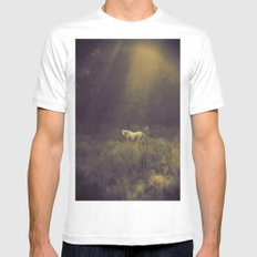 Pale Horse 1 Mens Fitted Tee White MEDIUM