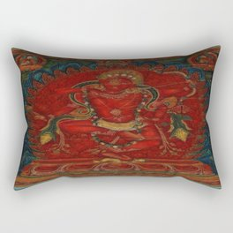 Kurukulla - Tibetan Buddhism Rectangular Pillow