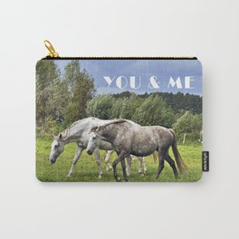 YOU & ME  Carry-All Pouch