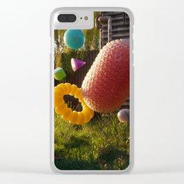 Bubble wrap Clear iPhone Case