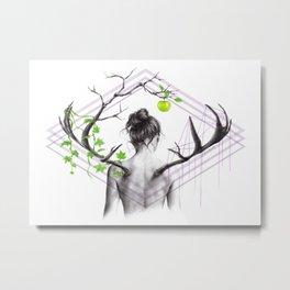 Grow Metal Print