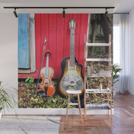Resonator And Fiddle Wall Mural