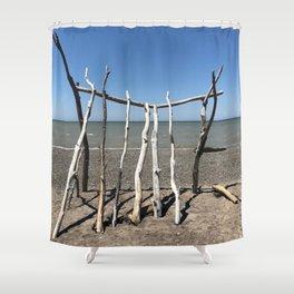 """Beach Art"" Photography by Willowcatdesigns Shower Curtain"