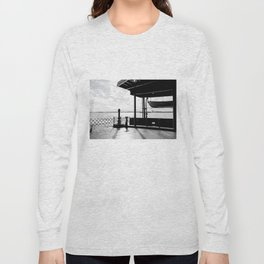 Staten Island Ferry (Silhouette) Long Sleeve T-shirt