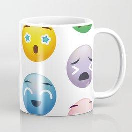 Colorful smiley print Coffee Mug