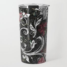 Baroque Bling Travel Mug