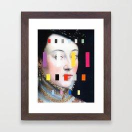 Portrait With A Spectrum 4 Framed Art Print