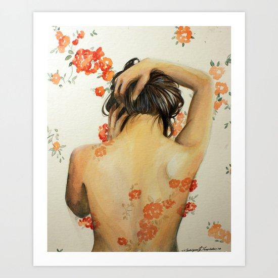 Blend In Art Print