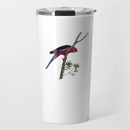 Crimson Rosella Travel Mug