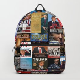 Donald Trump Books Backpack
