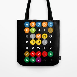 NYC: New York Subway Tote Bag