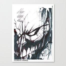 Futuristic Cyborg 2 Canvas Print