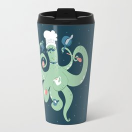 The Octopus Chef Travel Mug