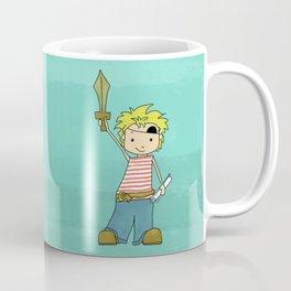 Always Time For Treasure! Pirate Boy Coffee Mug