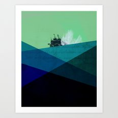 Rough Seas Art Print