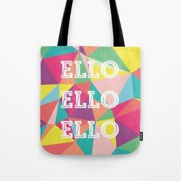 Happy Geometric Tote Bag